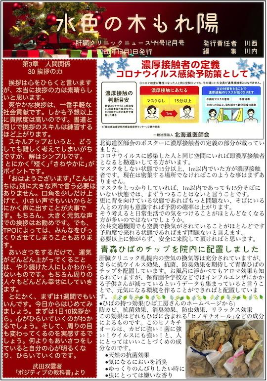 肝臓クリニックニュース44号12月号 00001