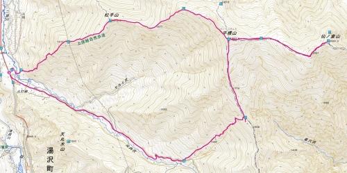 平標山地図