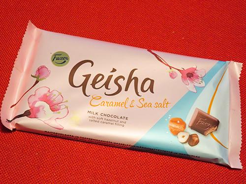 フィンランド Fazer Geisha Caramel Sea salt ゲイシャ キャラメル シーソルト