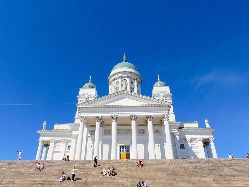 フィンランド ヘルシンキ Helsinki 大聖堂 Tuomiokirkko