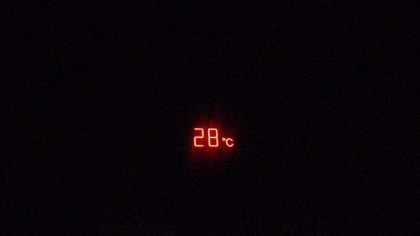 今季最高気温