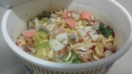日清食品「ップヌードル 魚介仕立てのペペロンチーノ」