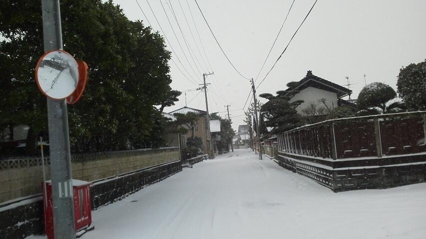 【2020年】今シーズン初の冬景色
