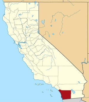 09e 300 Location of San Diego County