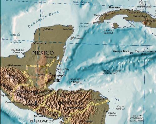 03c 600 Location of Hondulas
