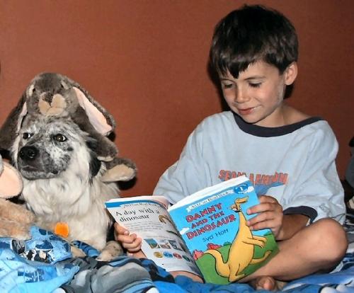 03c 600 Jack likes reading