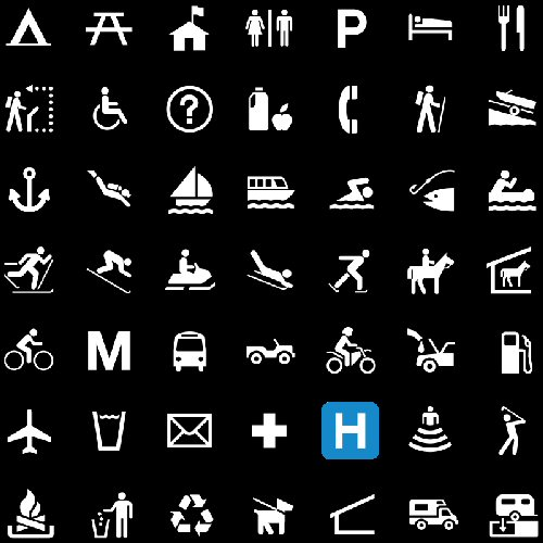 09a 500 many pictogram
