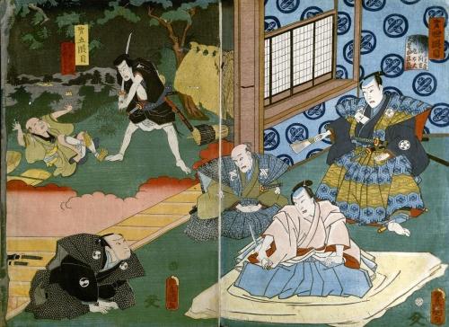 09e 600 忠臣蔵 Harvard_Theatre_Collection_Utagawa_2