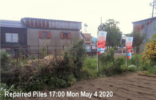 09b 600 repaired piles