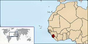 03cb 300 Location of Siorra Leone