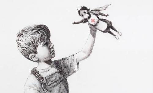 04b 600 Banksy art