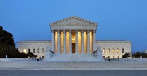 03d 600 United_States_Supreme_Court_Building_at_Dusk