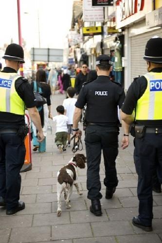 02a West Midland Police sniff_dog