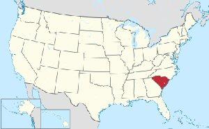 03ab 300 Location of South Carolina