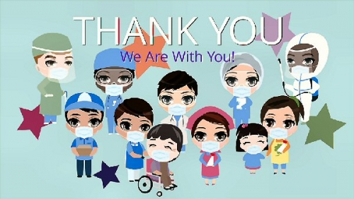 03b 600 thank you we are with you