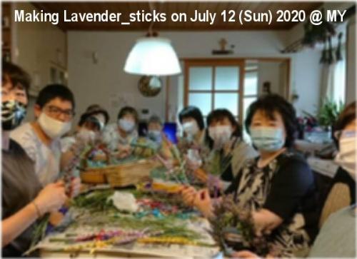 01a 600 Making Lavender sticks Yamai