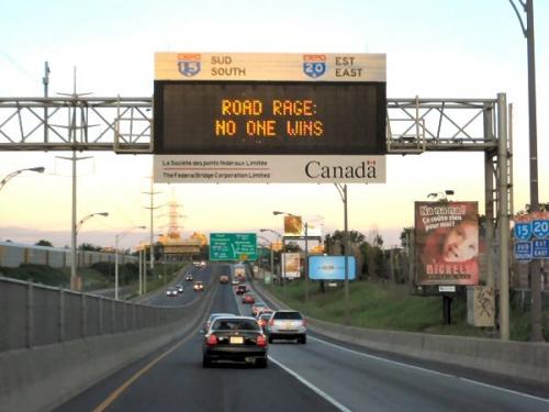 09aa 600 road rage no one wins