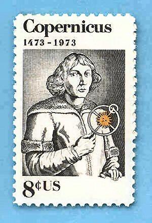03a 300 Copernicus stamp