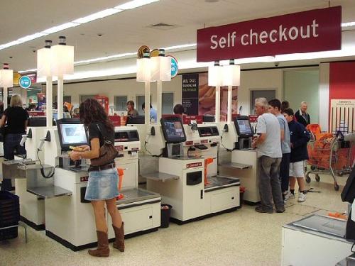 03b 600 self checkout
