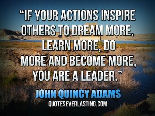 03c 600 Quote of Jhon Q Adams