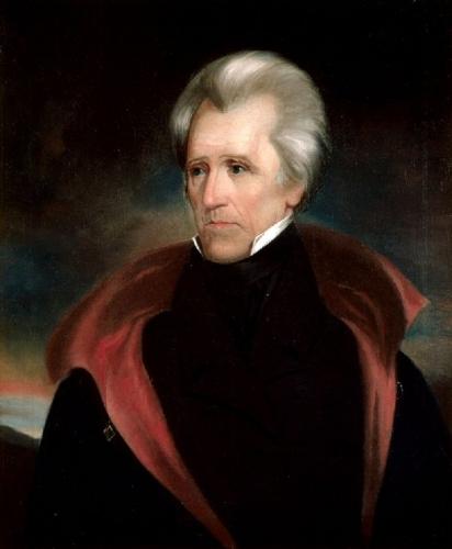 03c 600 7th President Andrew Jackson