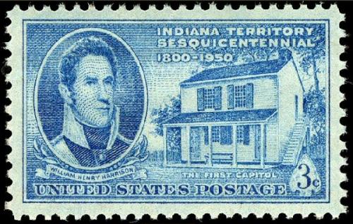 09a 600 Harrison Stamp 1950