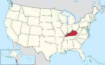09c 350 Location of Kentucky