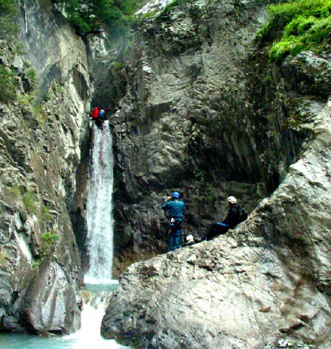03b 600 Canyoning Rocky Mountains