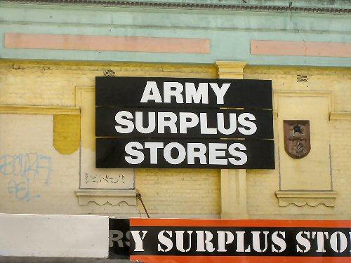 03a 500 surplus store
