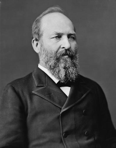 03c 500 US 20th President James Garfield