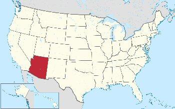 03bb 350 Location of Arizona