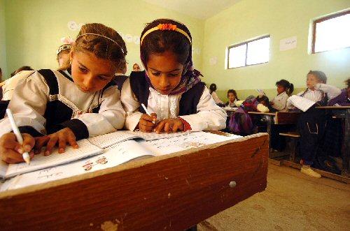 03b 500 Iraq kids brushing up