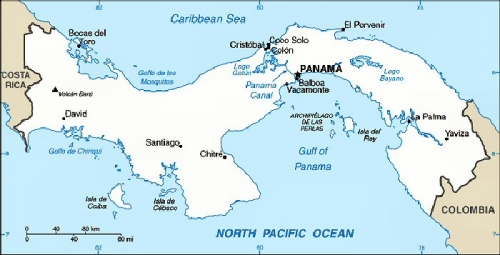 09ab 700 Location of Panama