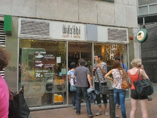 04a 600 sushi shop in London