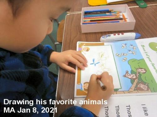 01a 600 210118 MA Drawing animals