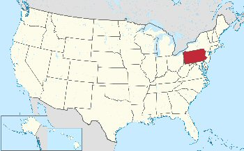 09bb 350 location of Pennsylvania