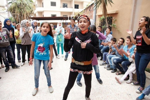 04aa 600 dancing for reducing pain Syria