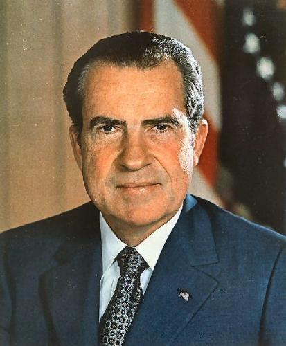 03c 500 Richard Nixon portrait