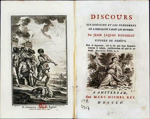 03d 600 Jean Jacques Rousseau 人間不平等起源論