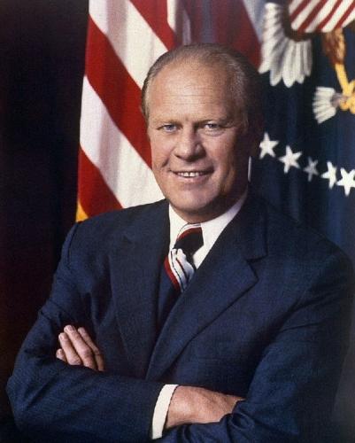 03c 600 Gerald Ford presidential portrait