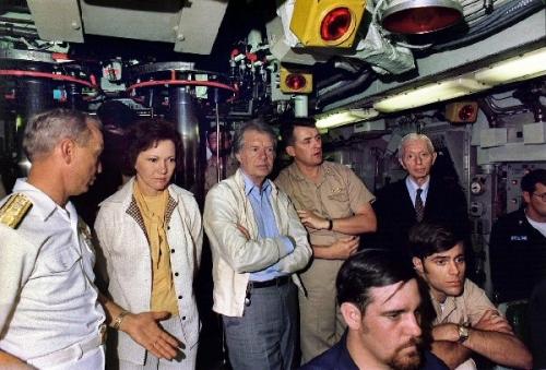 09a 600 Jimmy Carter aboard submarine