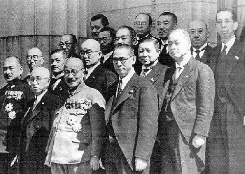 03a 500 Cabinet of Hideki Tojo