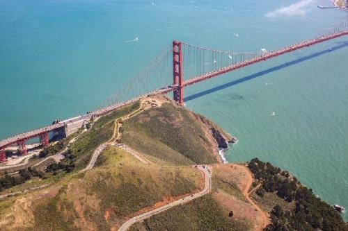 04b 600 Tide is high Golden Gate Bridge