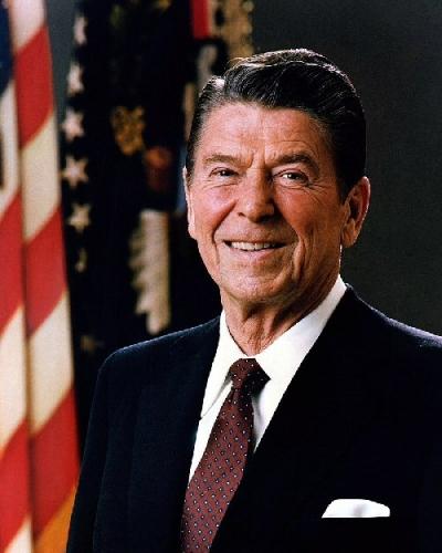 03c 500 Ronald Regan official portrait