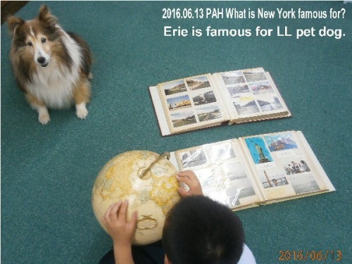 09a 600 20160613 Erie is famous for LL pet dog