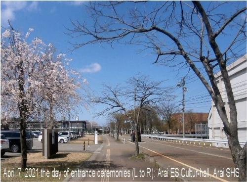 01ad 600 20210407 toward Arai ES Culture_hall Arai SHS