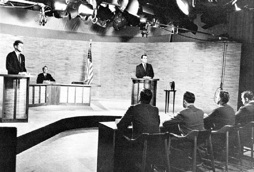 04ad 500 TV debate with Kennedy