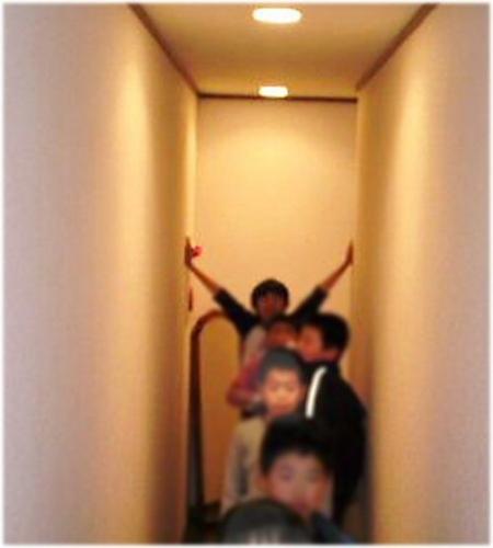 0b 500 20110405 FireDrill PB回廊#1