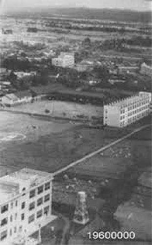 1bb 600 1960頃 新井中小航空写真