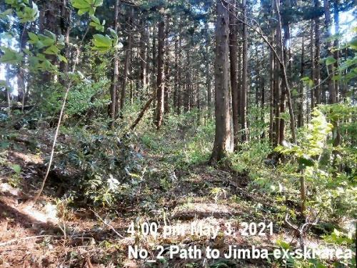 1b 600 02 20210503 Entrance of Path to Jimba